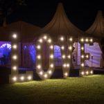 Reuze LOVE letters met LED verlichting