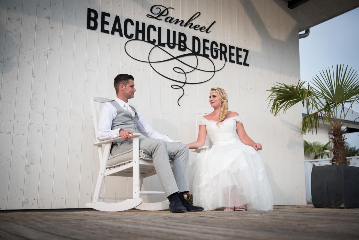 Trouwen Beachclub Degreez