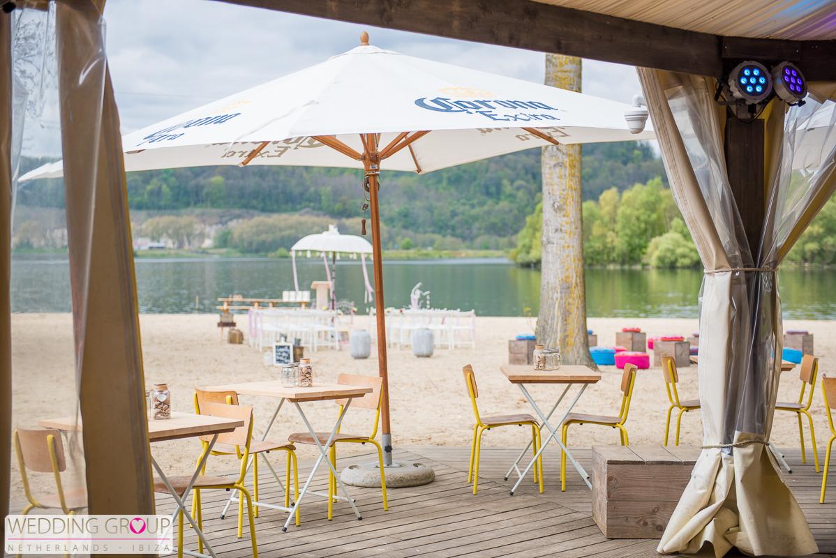 Trouwen Beachclub Maastricht